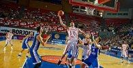 Матч по баскетболу между сборными Грузии и Чехии