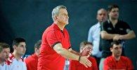 Главный тренер сборной Грузии по баскетболу Элиас Зурос