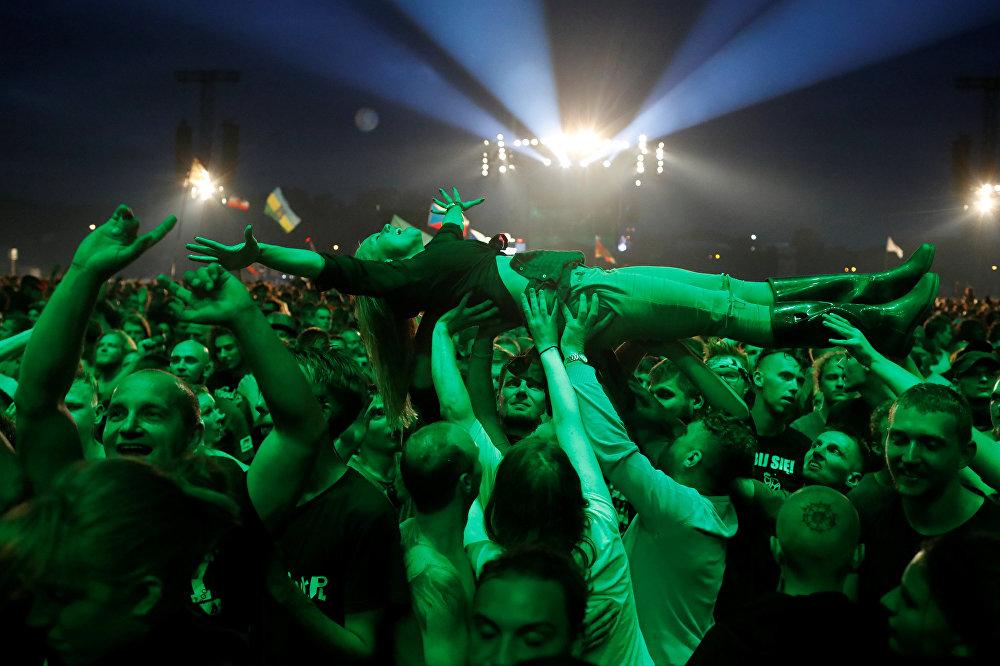 В Костшине (Польша) завершился 23-й Польский Вудсток – один из крупнейших в Европе фестивалей рок-музыки на открытом воздухе