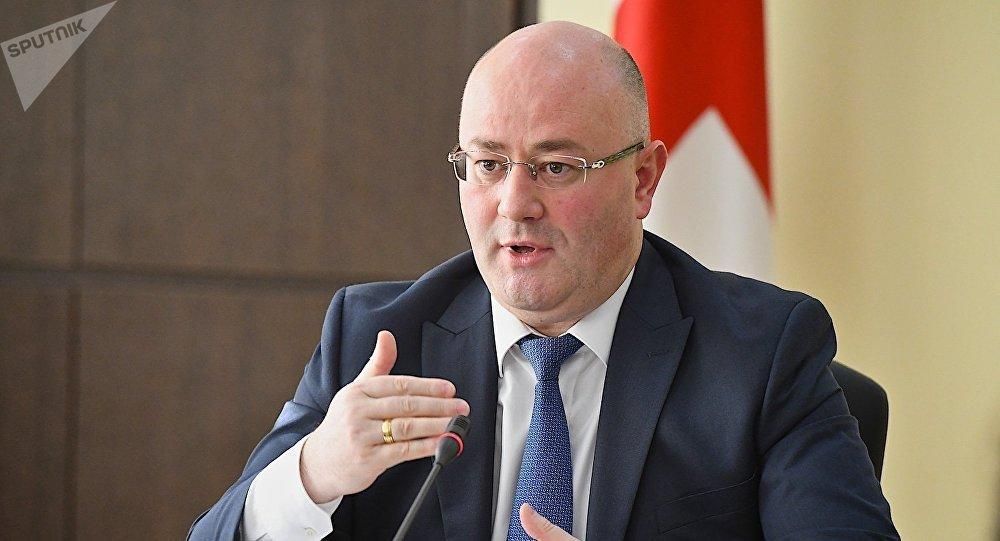 Министр обороны Грузии Леван Изория