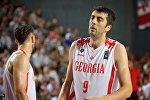 Баскетболист сборной Грузии Георгий Шермадини