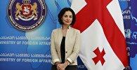 Посол Грузии во Франции Екатерина Сирадзе-Делоне
