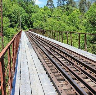 Железная дорога между Боржоми и Бакуриани