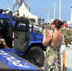 პოლიციისა და სამაშველო ტექნიკის გამოფენას ბათუმში ასობით სტუმარი დაესწრო
