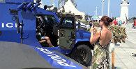 Безопасность туристов прежде всего: полицейская выставка в Батуми