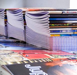Как в Грузии делают школьные тетради