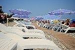Отдыхающие на черноморском побережье Батуми