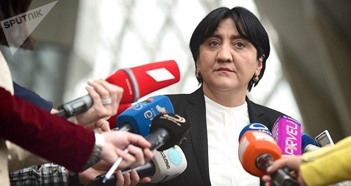 Депутат парламента Грузии, лидер Альянса патриотов Ирма Инашвили