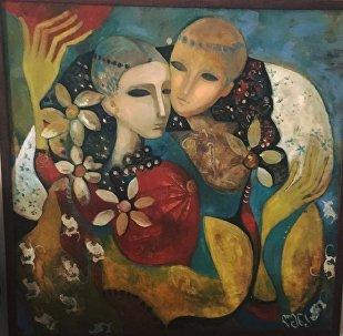 ელენა ინჯიას ნახატი