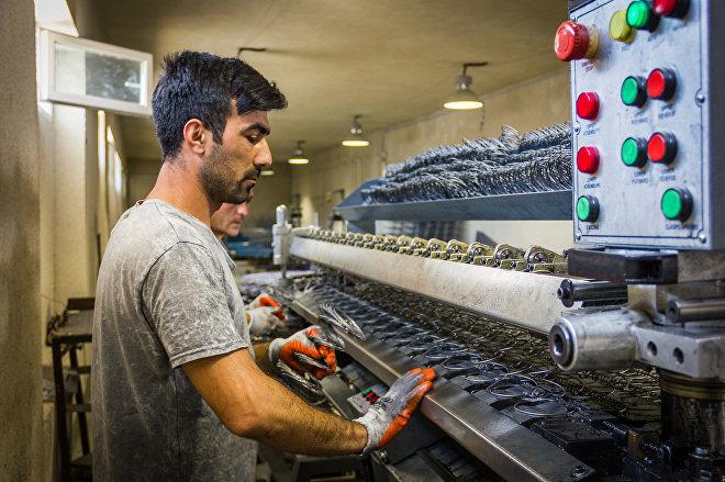 Процесс производства матрасов