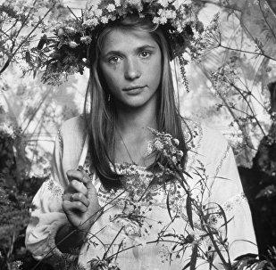 Советская актриса Вера Глаголева
