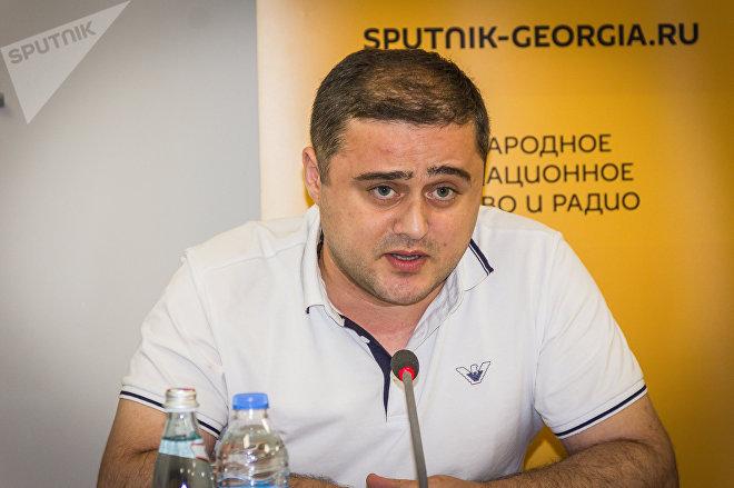 Председатель Ассоциации молодых педагогов Грузии, социолог Манри Чантурия