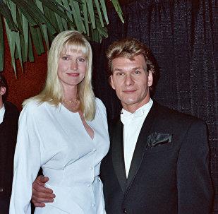 პატრიკი სუეიზი მეუღლესთან ერთად