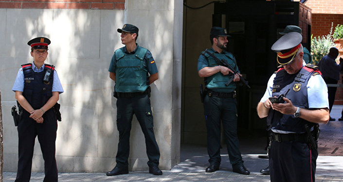 პოლიცია ბარსელონაში
