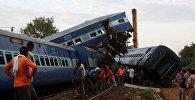 В Индии с рельсов сошел переполненный пассажирами поезд. В нем погибло 23 человека, по меньшей мере 123 получили ранения