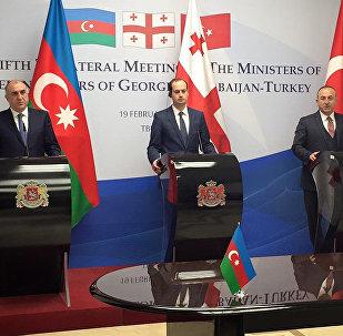 საქართველოს, აზერბაიჯანისა და თურქეთის საგარეო საქმეთა მინისტრები