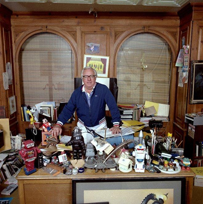 Американский писатель Рэй Брэдбери