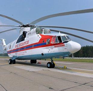 ბელარუსის საგანგებო სიტუაციების სამინისტროს ვერტმფრენი მი-26