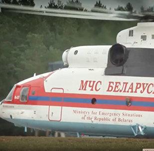 Вертолет МЧС Беларуси вылетел в Грузию для тушения лесных пожаров