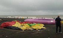 Последствия урагана в Шекветили