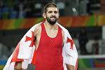 Грузинский борец Гено Петриашвили