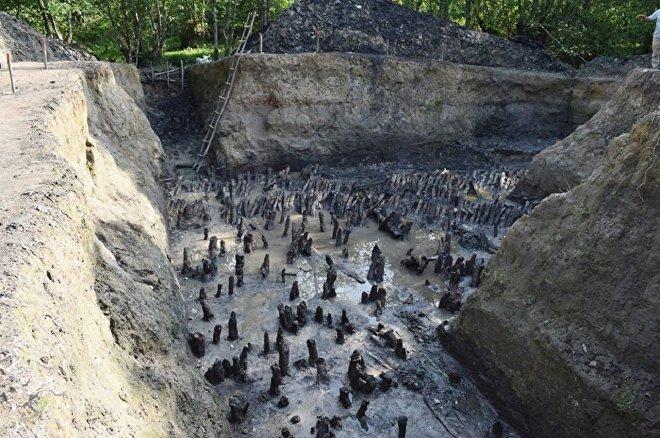 Археологические раскопки вблизи с Зугдиди