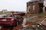 Последствия урагана Харви в американском Рокспорте