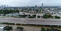 Наводнение в Хьюстоне в результате урагана