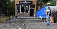 პოლიციამ მოკლა მამაკაცი, რომელსაც მზევალი ჰყავდა აყვანილი