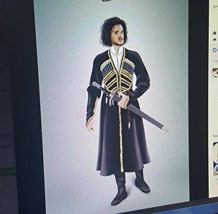 Персонажа Кита Харингтона грузинские рекламщики назвали Джоном Сноу-Кетелаури