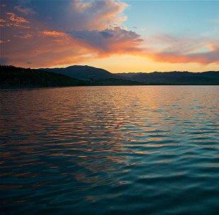 Озеро Лиси на закате