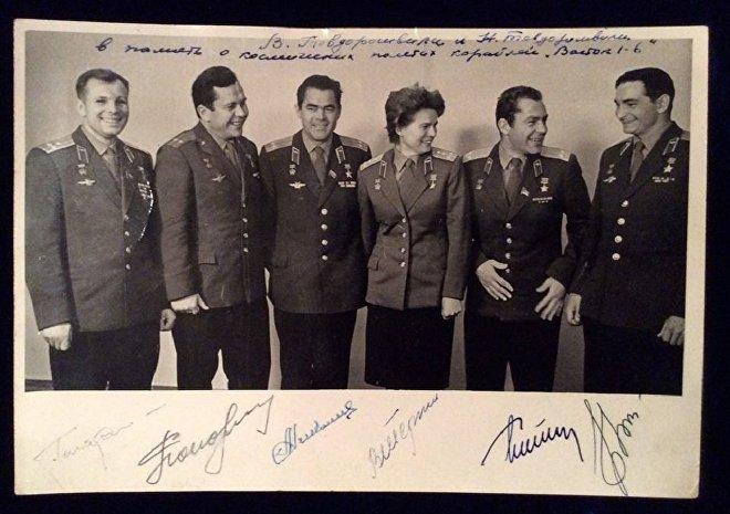 Юрий Гагарин и Валерий Быковский