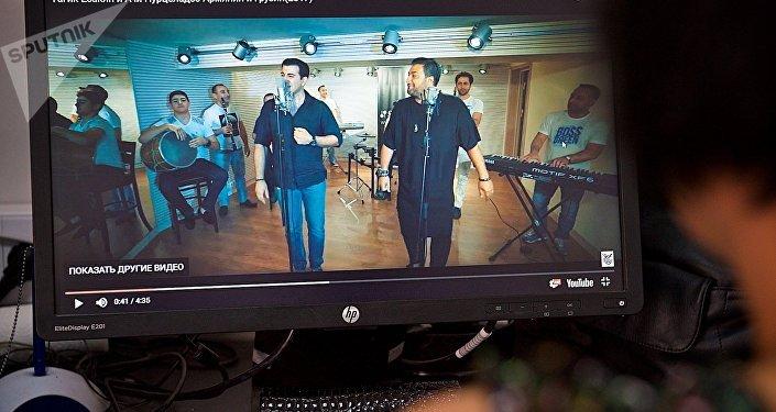 Клип Армянин и грузин на YouTube