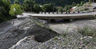Ситуация в Сванети после наводнения