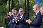 Премьер Грузии Георгий Квирикашвили представил кандидатов в мэры городов и районов региона Имерети