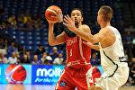 СБорная Грузии по баскетболу играет против Литвы