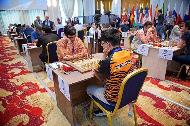 Первый день Кубка мира по шахматам в столице Грузии
