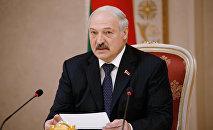 ბელარუსის პრეზიდენტი ალექსანდრ ლუკაშენკო