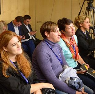 Школа молодого журналиста Sputnik в Москве
