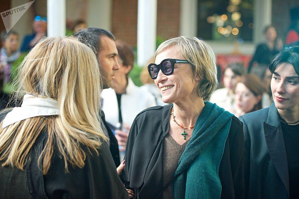 Открытие Тбилисской Недели моды посетила и первая леди Грузии Мака Чичуа