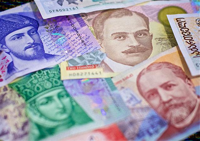 Грузинская национальная валюта лари