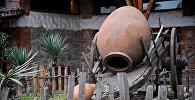 Глиняный кувшин для вина - квеври