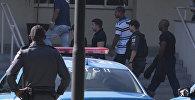 Полицейские в штабе гражданской полиции в Рио-де-Жанейро