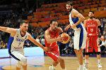 Матч между сборными Грузии и Израиля по баскетболу