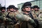Грузинские военные готовятся к отправке в Афганистан