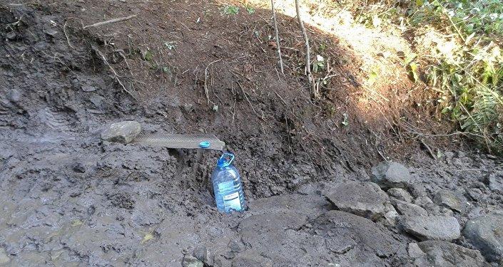 Источник в селе Бутураули