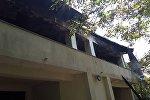 Пожар в доме оппозиционера Дмитрия Лорткипанидзе