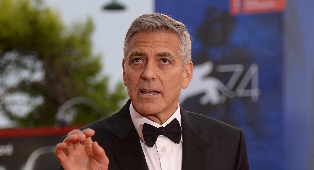 Дружба народов. Джордж Клуни приютил усебя иракского беженца