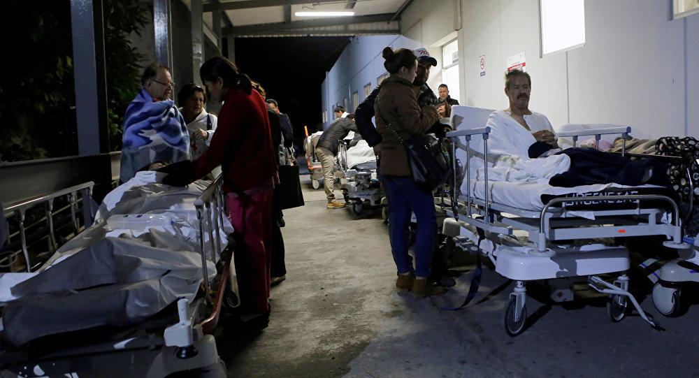 მექსიკაში მომხდარი მიწისძვრის შედეგები