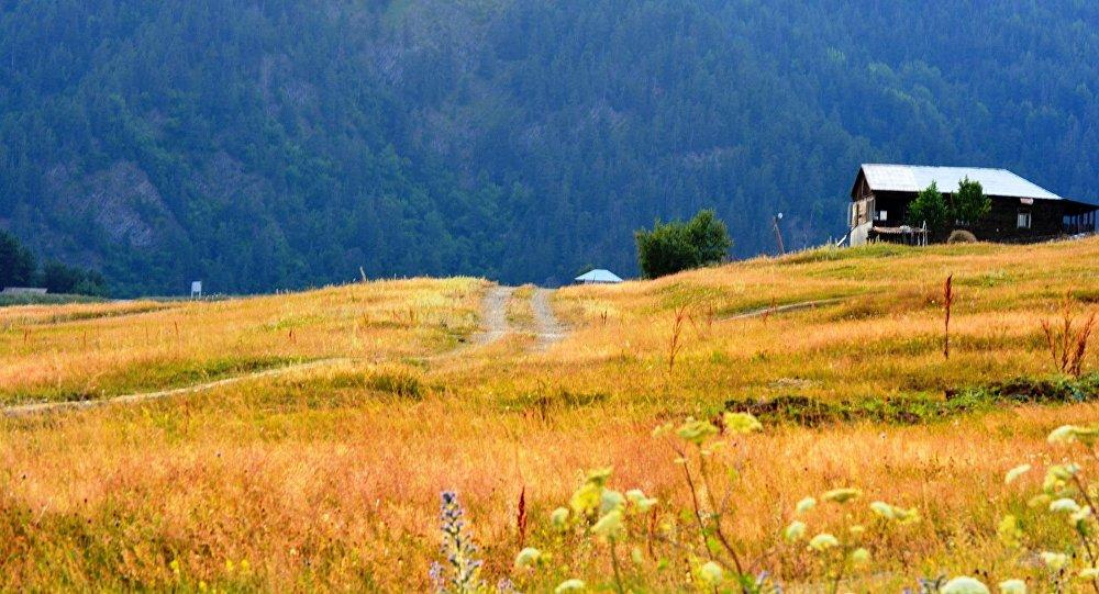 Дом в горах Тушети